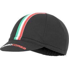 Castelli Rosso Corsa Cycling Cap black